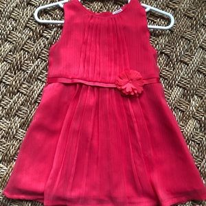 Carter's 🌺 CUTE 🌺 pink fancy occasion dress